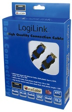 LogiLink HDMI Kabel High Speed (HDMI Stecker - Stecker - 5m)