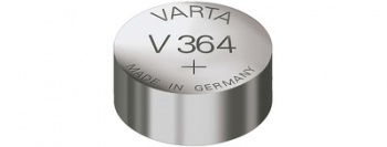 VARTA Silber-Oxid Uhrenzelle (V362 - SR58 - 1,55V)
