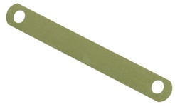 ELBA Deckleiste aus Metall (messingfarben lackiert)