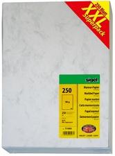 sigel A4 Marmor-Papier Edelkarton DP396 (200 g/qm - grau)