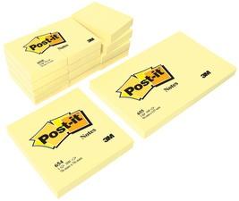 Post-it Haftnotizen (38 x 51mm - gelb)