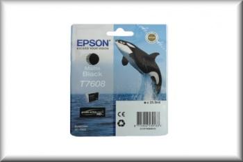 Epson Tintenpatrone T76084010 (25,9ml - matte black)