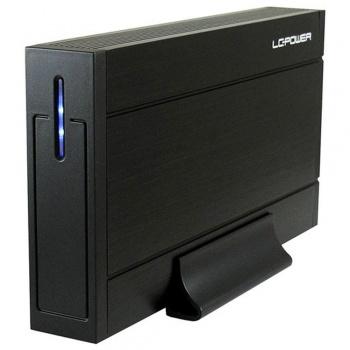 "LC-Power Gehäuse LC-35U3-Sirius für SATA-HDD (3,5"" - USB 3.0 - schwarz)"