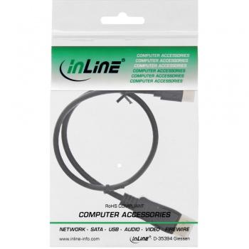 InLine Mini DisplayPort zu DisplayPort Kabel (2m - schwarz)