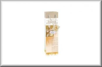 sigel Flaschentüte Weihnachtsmotive (Golden Shimmer - glänzend)