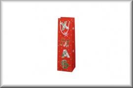 SUSY CARD Flaschentüte Weihnachtsmotive (Magic Stars - glänzend)