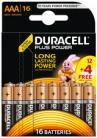 Batterie Alkaline Duracell PLUS POWER Micro (AAA - 12er +4)