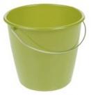 ok Eimer mit Stahlbügel rund (5l - farn-green)