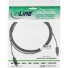 InLine OPTO Audiokabel Toslink Stecker / Stecker (schwarz - 3m)