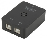 DIGITUS USB 2.0 Sharing Switch (2-fach - schwarz)