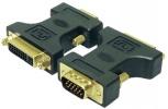 LogiLink Adapter 15pol VGA-Stecker - 24+5pol DVI-Kupplung