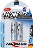 Akku Ansmann Phone DECT Mignon (AA - 1300mAh - 2er)