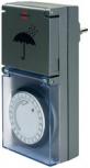 brennenstuhl Tageszeitschaltuhr MZ 44 (IP44 - anthrazit)