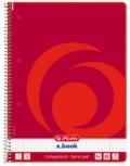 herlitz Collegeblock x.book (DIN A4 - 80 Blatt - kariert)