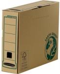 Fellowes Archiv-Schachtel BANKERS BOX EARTH (braun - B:80mm)
