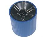 helit Klammernspender Linear (Polystyrol - blau)