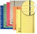ELBA Trennblätter mit Perforation (DIN A4 - Überbreite - rot)