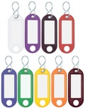 WEDO Schlüsselanhänger S-Haken (rot - Großpackung)