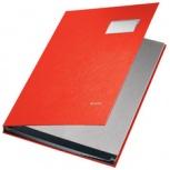 LEITZ Unterschriftenmappe PP-Überzug (20 Fächer - rot)