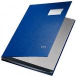 LEITZ Unterschriftenmappe PP-Überzug (20 Fächer - blau)