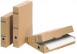 LEITZ Archiv-Schachtel mit Verschlusslasche (braun - A4)