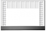 sigel Papier-Schreibunterlage Office (590x410mm)
