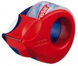 tesa Mini Abroller inkl. 2 Klebefilm (rot/blau)
