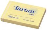 Tartan Notes Haftnotizen (hellgelb - 38 x 51mm)