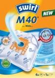 swirl Staubsaugerbeutel M40 (+MicroporPlus-Filter)