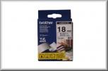 Brother Schriftbandkassette TZe-241 (18 mm - weiß/schwarz)