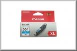Canon Tintenpatrone CLI-551C XL (11ml - cyan)