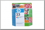 HP Tintenpatrone No 23 XL C1823DE (30ml - color)