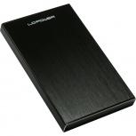 """LC-Power Gehäuse LC-25U3-Becrux für SATA-HDD & SSD (2,5"""" - USB 3.0 - schwarz)"""