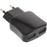 InLine USB 2-fach Netzteil (schwarz)