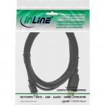 InLine USB 2.0 Kabel USB-A St an Micro-B St (schwarz - 2m)