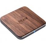 InLine Schnellladegerät Qi woodcharge (wireless - 5/7,5/10W)