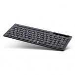InLine Keyboard Aluminium Bluetooth (4in1 - schwarz)