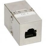 InLine Patchkabelkupplung CAT6 (2x RJ45 Buchse - geschirmt)