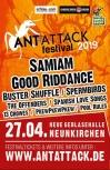 Ticket - Antattack Festival 2019 (27.04.2019 - Neunkirchen)