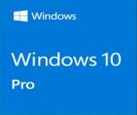 Microsoft Windows 10 Pro (SB - 64bit)