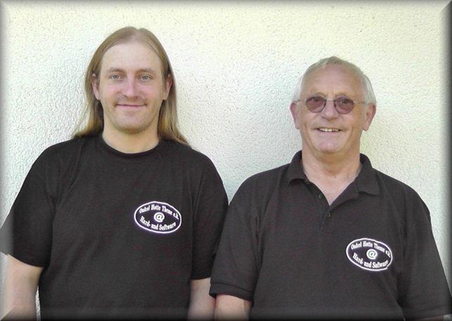 Thomas und Fred Martin